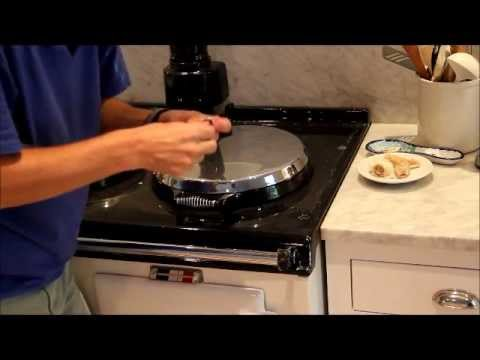 how to clean ariston stove top
