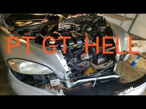 2003 Chrysler PT GT  Radiator Replacement