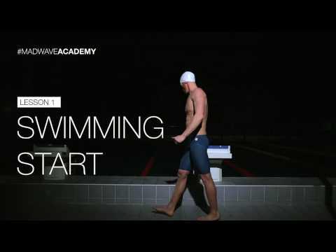 Swimming Start Technique