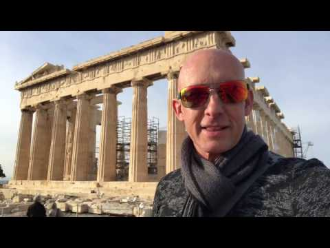 The Parthenon at the Acropolis in Athens, Greece - Feeling the Energy Barefoot