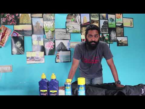 Raid Preparation -BayCity Speed Shop - Jacket, Engine Oil and Chain & Engine Degreaser