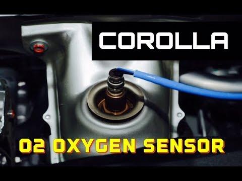 2003 1.8L Toyota Corolla Upstream Oxygen O2 Sensor P0135 - How To Remove Replace Celica Echo Matrix