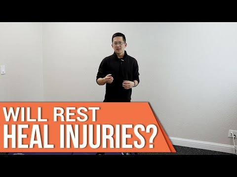 Will rest heal a groin pull or other injuries?