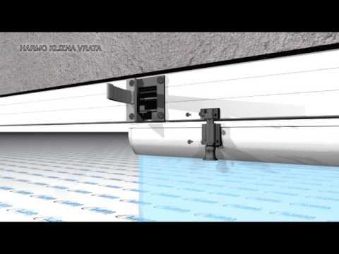 3D video animation/ folding sliding doors/ DIY