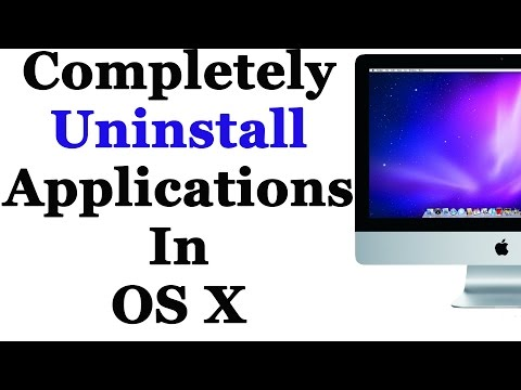 How To Completely Remove Applications On Mac OSX Without Downloading Software