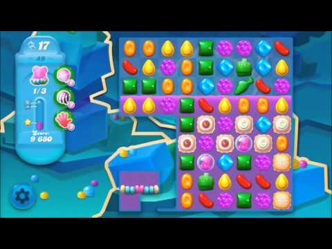 Candy Crush Soda Level 49 *Get the bear above the candy string*