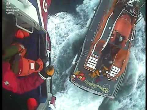 UK Coastguard rescues yachtsman suffering from severe sea sickness
