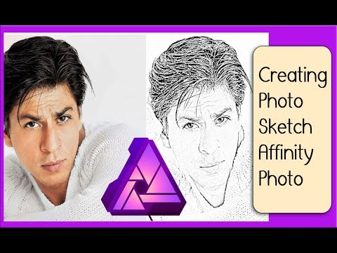 [Affinity Photo] Converting Photo into a Pencil Sketch