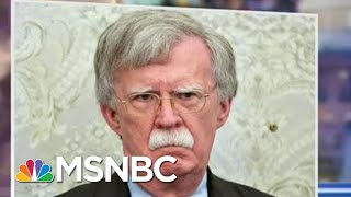 Trial Bombshell: Trump Insider Sides With Bolton On Ukraine, Implying Trump Is Lying | MSNBC