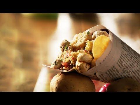 Makhana Sukha Bhel - How To Make Makhana Bhel - Healthy Snacks