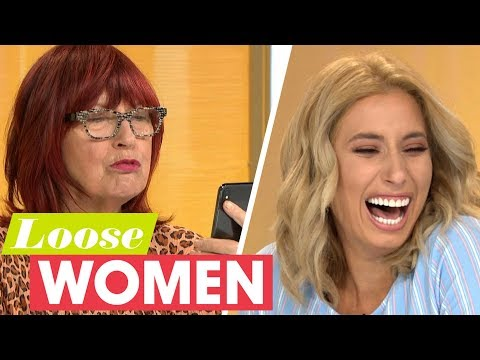 Stacey Solomon's Love Letter to Joe is Full of Spelling Mistakes! | Loose Women