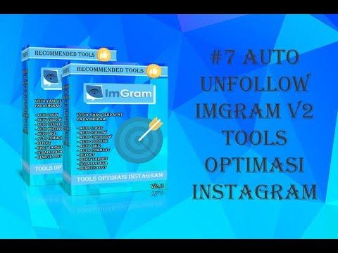 #7 imGram v2 Auto Unfollow tools optimasi instagram