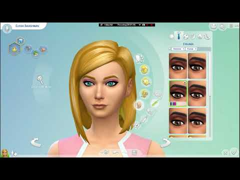 [CAS] - Elissa Baughman (using only The Sims content)