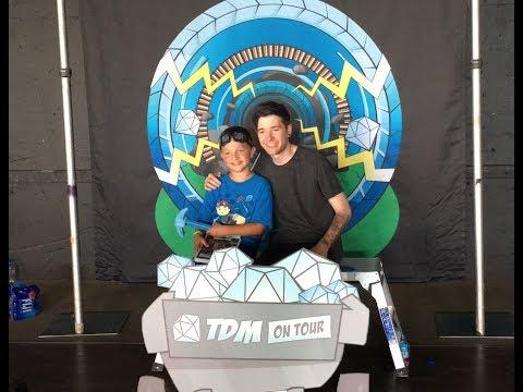 Zachary meets DanTDM!!