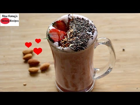Strawberry Oatmeal Breakfast Smoothie Recipe - Oats Recipes For Weight Loss