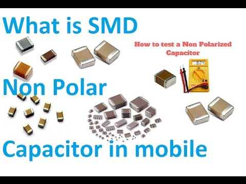(Lecture 4th ) What is SMD Non Polar Capacitor,How to test a capacitor with a multi meter in Mobile