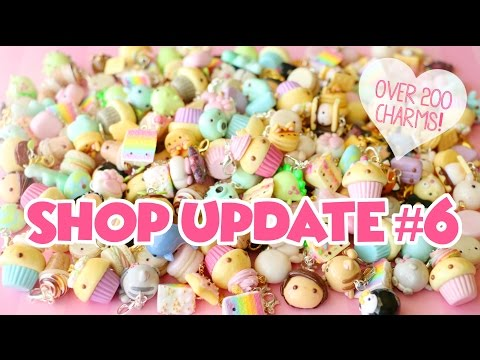 HUGE Shop Update #6│Over 200 Polymer Clay Charms