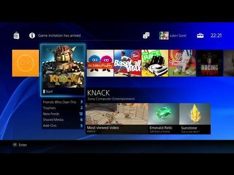 Pierwsze kroki z PlayStation 4 (PS4) - Dashboard PL konsoli PlayStation 4 (PS4)
