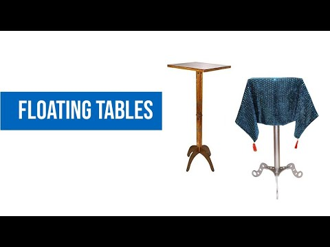 Wooden Floating Table Magic Trick Levitation DiFatta Illusion