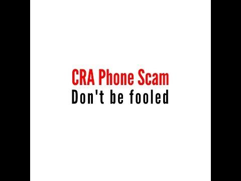 CRA Scam | Phone Recording