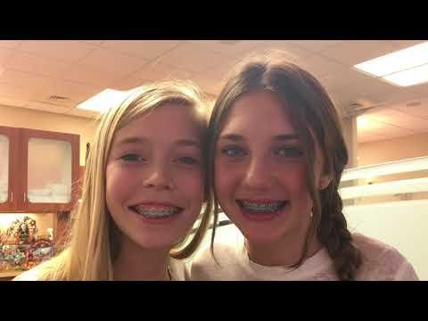 Getting our braces tightened! | Loella