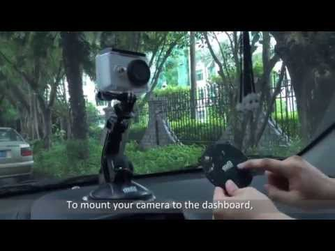 Car Suction Cup Dashboard Windshield Mount for Xiaomi Yi Action Sport Camera Reviw