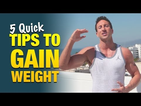 5 Quick Tips To Gain Weight: Skinny Guys Must See This