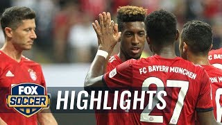 Kingsley Coman puts Bayern Munich up four against Frankfurt | 2018 DFL-Supercup Highlights