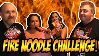 Extreme Spicy Ramen Fire Noodle Challenge