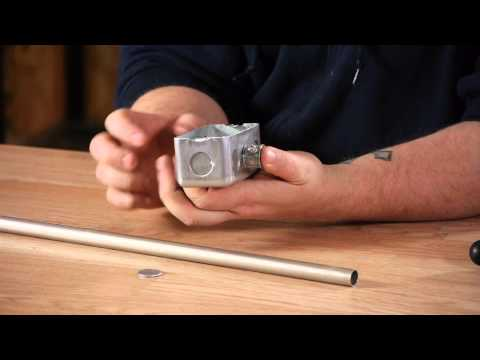 Running Conduit Into an Electrical Outlet Box : Electrical Work