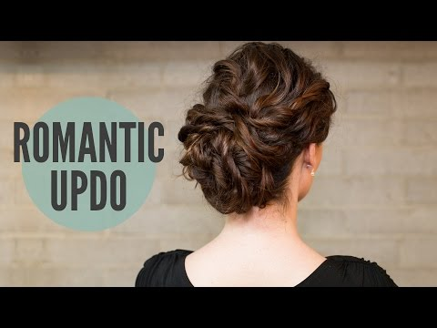 How To:Curly Romantic Updo