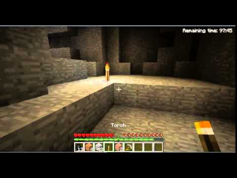 Minecraft Demo: How to find Gold and Diamonds!