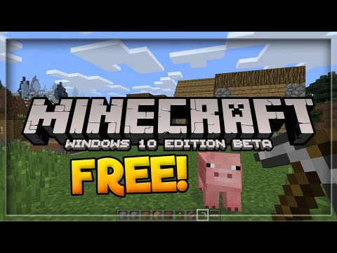 How To Get Minecraft Windows 10 Edition For FREE! - Minecraft PE For Free (Pocket Edition)