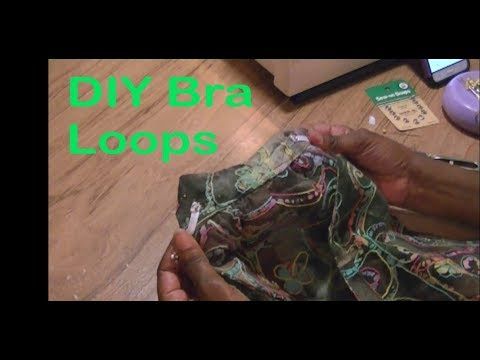 DIY Bra Loops - Sewing With Niler