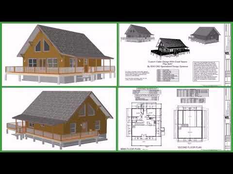 Small Loft Cabin Designs