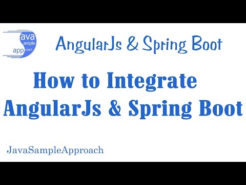 How to integrate Http Angularjs & Spring Boot