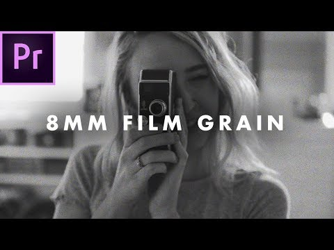 FREE 8mm Film Grain Overlay (High quality) | How to
