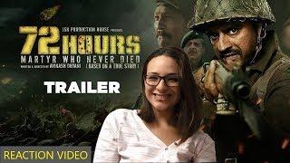 72 Hours Trailer Bollywood Reaction by Spanish Girl Irene Lopez