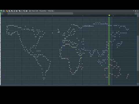 Musical World Map - Australia