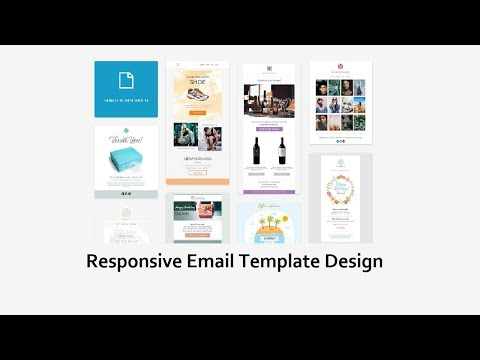 How To Create A HTML Email Template | Responsive Email Template Design