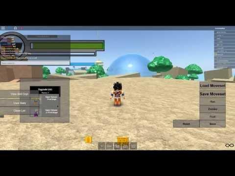 Dragon Ball Z online Roblox Eposode 1-The Boss code #1
