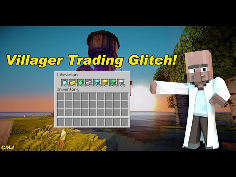 Minecraft Xbox / PS - TU48 - Villager Trading Glitch - TUTORIAL - NEW + WORKING (TU48)