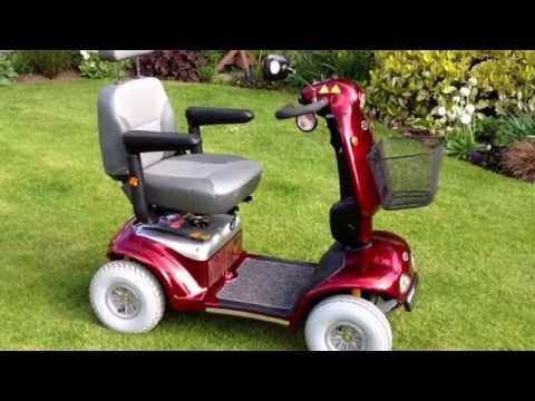 Helping Hand Stairlifts Cheshire - Shoprider Cadiz Mobility Scooter - We sell stairlifts