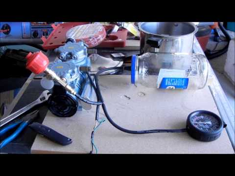 Making a Simple DIY Vacuum Chamber from a few parts and a pickle jar