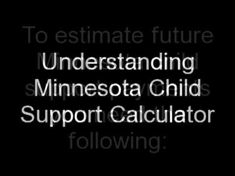 Minnesota Child Support Calculator MN | How To Use It