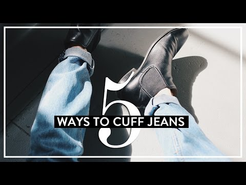 5 Ways to Cuff Your Jeans