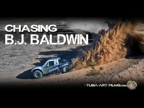 Chasing B.J. Baldwin (Raw Helicopter Footage)
