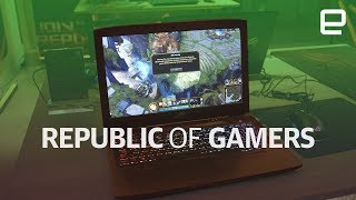ASUS ROG Hero and Scar Editions first look at IFA 2017