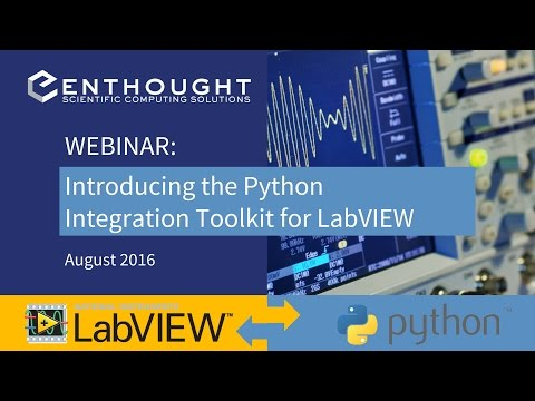 Webinar: Introducing the New Python Integration Toolkit for