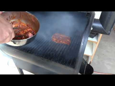 How to Grill Rib Eye Steaks on a Traeger Smoker Grill